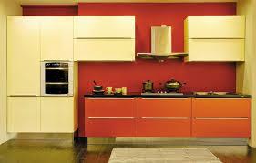 Orange And White Kitchen Ideas Breathtaking Orange Kitchen White Cabinets Pictures Decoration