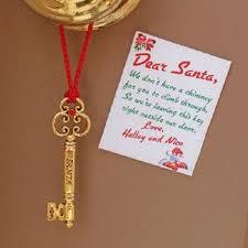 santa key santas magic door key personalized note