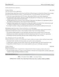 Financial Advisor Resume Samples Equity Trader Resume Eliolera Com