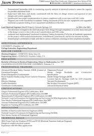 sle resume for internship in electrical engineering biomedical engineering degree resume sales engineering lewesmr