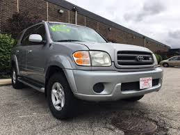 2001 toyota sequoia 2001 toyota sequoia sr5 4wd 4dr suv in cleveland oh