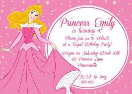template inexpensive princess birthday invitations template free