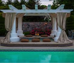 Pool Pergola Designs by Pool Pergola An Open Air Structure Pergolas Patios And Privacy