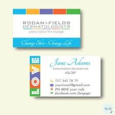 Personalized Business Cards Rodan And Fields Business Cards Elegant Rodan And Fields