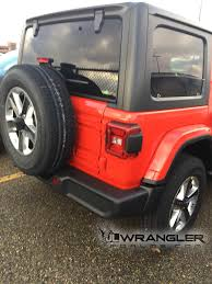 jeep sahara red 2018 jeep wrangler sahara jlu msrp price shown on window sticker