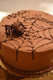 halloween spider web cake chocolate heavy cake