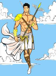 topic greek gods by the jester heromachine character portrait