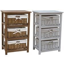 wooden storage cabinet with wicker baskets kashiori com wooden