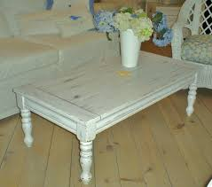 White Wash Coffee Table - coffee tables rustic white coffee table weathered wood coffee