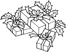 coloring pictures of christmas presents christmas tree with presents coloring pages getcoloringpages com