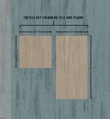 textile vinyl composition tile vct flooring