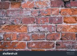 Brick Texture Paint - old red brick wall cracks wall stock photo 489494080 shutterstock