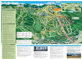 Colorado Elevation Map by Vail Trail Map Mountain Trail Maps Vail Com