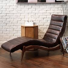 Leather Sofa Chaise Lounge by Decorating Inspiring Leather Chaise Lounge Design As Interior