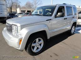 silver jeep liberty 2007 2008 jeep liberty limited 4x4 in bright silver metallic 210717