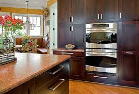 Marsh Kitchen Cabinets by Contemporary Cabinets Are Simple And Symmetrical Around This