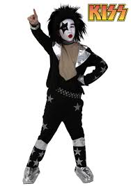 spirit halloween sf kiss costumes kiss band halloween costume paul gene simmons boots