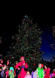 enjoy big bear christmas tree lightings kvbb lp 94 5 fm big