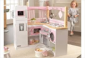cuisine kidkraft blanche cuisine d angle en bois jouet cuisine kidkraft et blanche