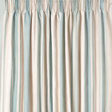striped bedroom curtains awning stripe duck egg ready made curtains laura ashley