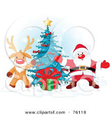 royalty free rf clip illustration of a rudolph the