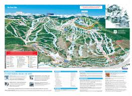 Piste Maps For Italian Ski by Vail Piste Maps And Ski Resort Map Powderbeds