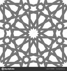 islamic vector geometric ornament traditional arabic