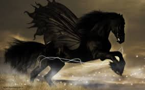 Black Horse Mustang Black Knight On Black Horse Free Download Clip Art Free Clip