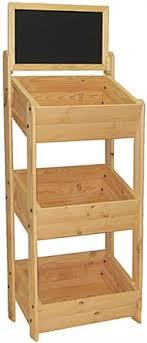 wood display wood display stand chalkboard header