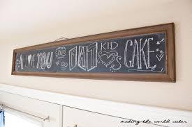 Home Decor Chalkboard Valentine Home Decor