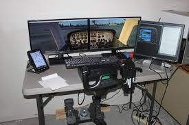 Flight Sim Desk Commercially Made Or Custome Home Made Simulator Setups