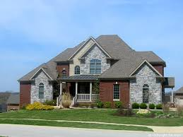 brick on houses red brick and stone combinations red brick and