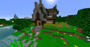 rustic house design minecraft home deco plans