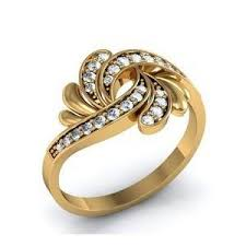 designer rings images ring diamond designer ring 0 26 ct 3 05 gm gold online