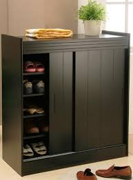 Cabinet With Sliding Doors Shoe Cabinet With Sliding Doors Home Interiors