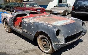 corvette project 1954 corvette for sale
