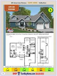 cape cod floor plan pickford all american modular home cape cod collection plan price