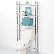 Bathroom Space Saver Shelves Zenna Home 9035ss 3 Tier The Toliet Bathroom