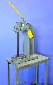 3 ton used dake ratchet arbor press mdl 1 1 2 b heavy duty