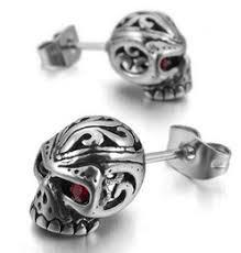 skull stud earrings men s skull stud earrings online men s skull stud earrings for sale