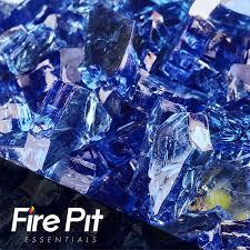 amazon com fireglass 10 pound reflective fire glass with