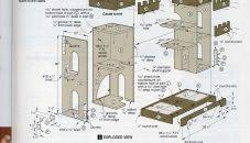 Free Doll House Design Plans by Doll House Plans Modern Wood Dollhouse Free Barbie Victorian Soiaya