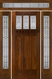 Wood Exterior Door Arts And Craft Doors Exterior Doors