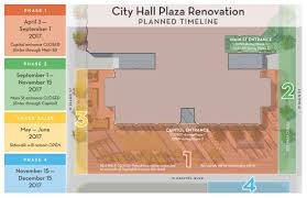 Renivation by City Hall Plaza Renovation Ccdc Boise
