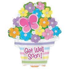 get well soon and balloons get well soon mylar balloon target