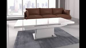 from coffee table to dining table elgin coffee table that also converts to a dining table in w youtube