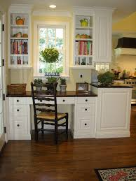 Countertop Desk Ideas Built In Desk Ideas Home Office Traditional With White Wood