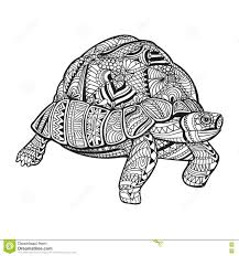 abstract ornamental turtle stock illustration image 69282439