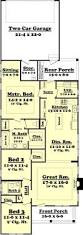 Small 3 Bedroom House by Narrow Lot 4 Bedroom House Plans 6513