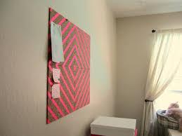 diy design washi tape corkboard diy house to home blog